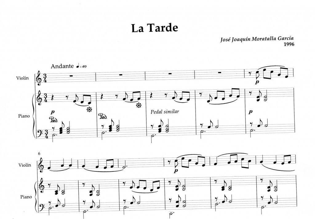 Incipit_La Tarde
