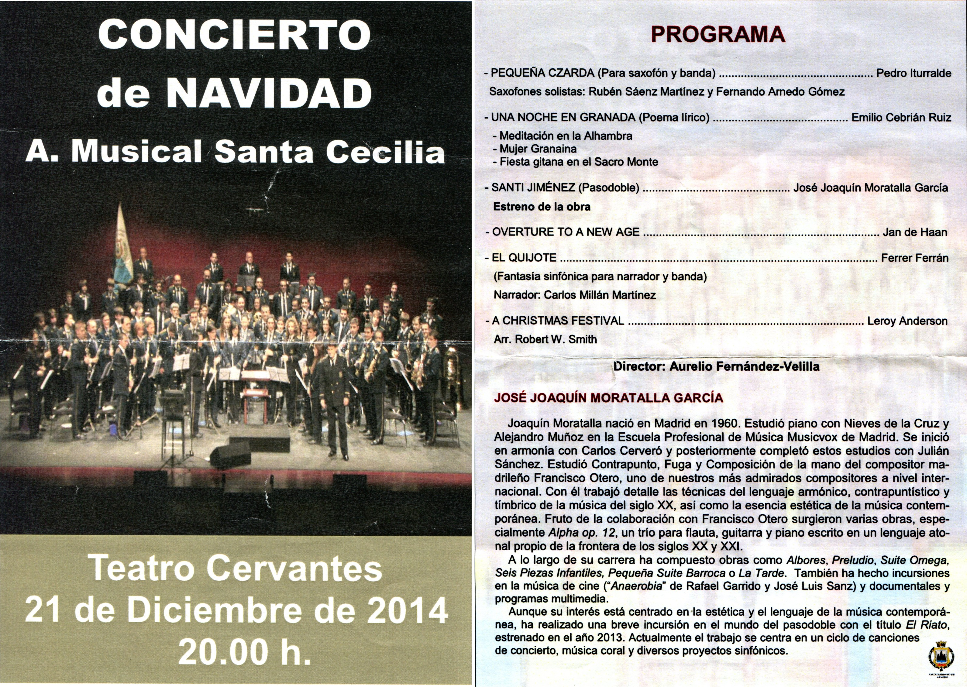 Teatro Cervantes_programa de mano
